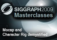 Autodesk Masterclasses: Mocap and Character Rig demystified